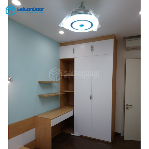 Tủ quần áo cho không gian phòng ngủ thêm phần ấm cúng, gần gũi